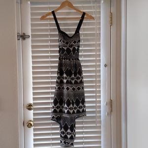 Lottie and Holly Hi Lo tribal print dress XS